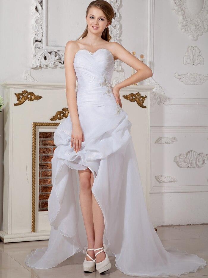 Popular wedding dresses modern buy cheap wedding dresses for White short wedding dresses cheap