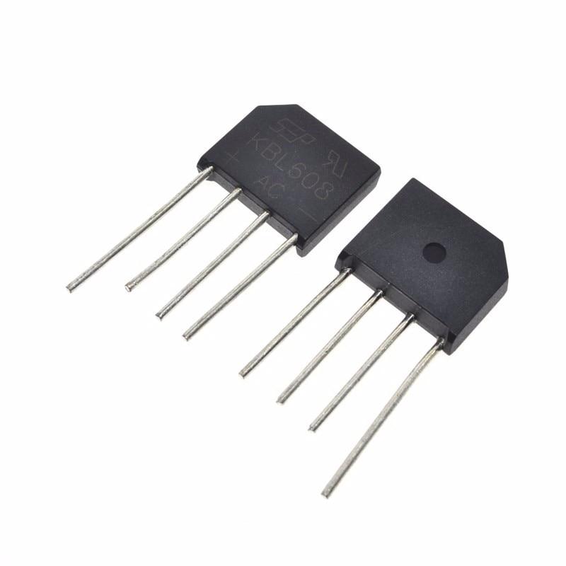5 Stücke Brückengleichrichter KBL608 KBL-608 6A 800V bo