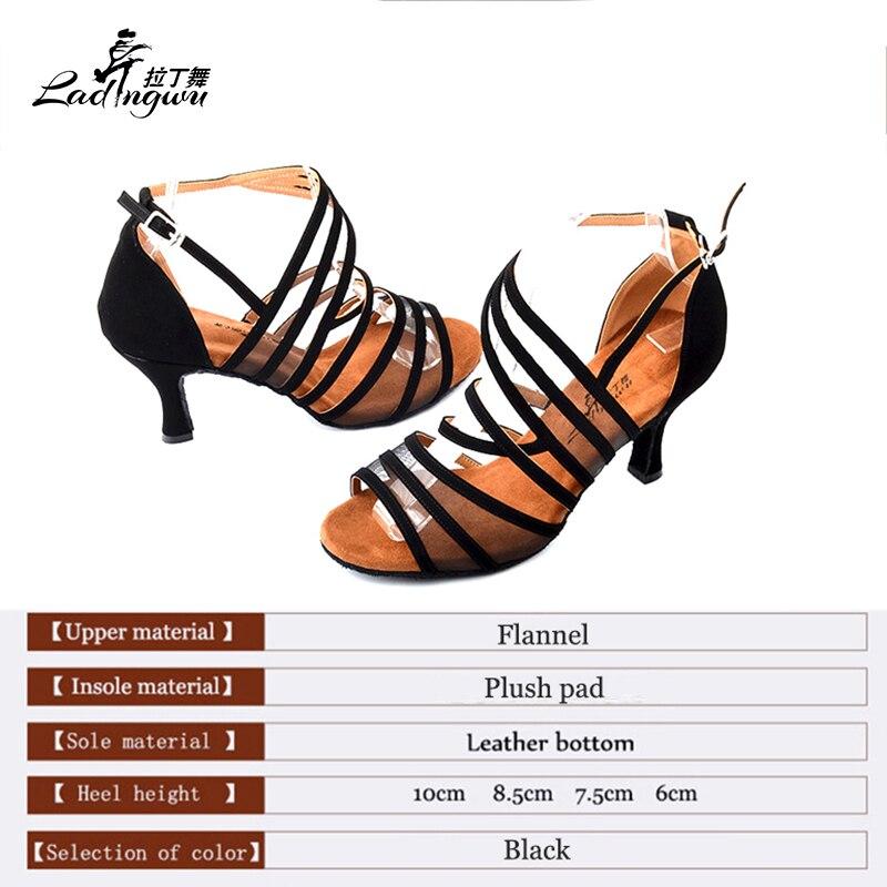 Ladingwu Flannel Black Shoes Әйелдер үшін Soft Bottom - Кроссовкалар - фото 2