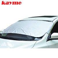 Kayme Auto Windschutzscheibe Sonnenschirm auto Windschutzscheibe Protector Anti Frost Schnee eis Windschutz Abdeckung für BMW lada toyota