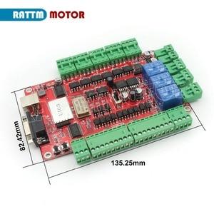 Image 3 - CNC 3 Axis Nema 23 stepper motor kit 112mm (Dual shaft) 425oz in & FMD2740C 50VDC Motor Driver & 4 axis USB port breakout board