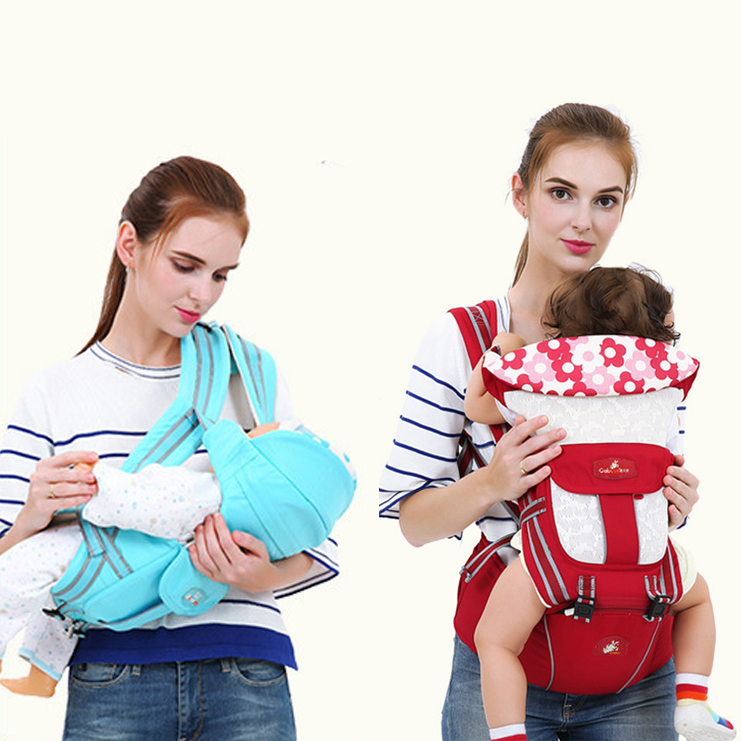 Gabesy Multifunction Outdoor Kangaroo Baby Carrier Sling Backpack New Born Baby Carriage Hipseat Sling Wrap