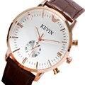 2016 Novo Famoso 3 Cores Casual Quartz Watch Mulheres Homens Vestido Relógios Relogio feminino Relógio do Metal Em Aço Inoxidável