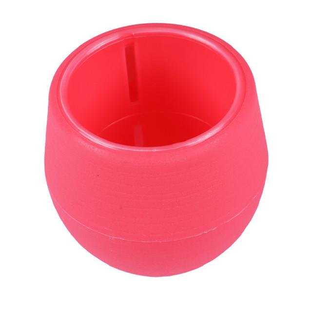 Szie S-L 7* 6.5cm 8* 7.5cm 9.5* 9cm Round Plastic Flower Pot Plant Planter Garden Home Office Decor Cute Flower Pots Planters