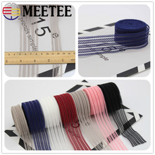 Meetee 18mm(23yards)35mm(9yards) Transparent Mesh Elastic Band DIY Handmade Bow Bag Clothing Decoration Sewing Accessories BD414