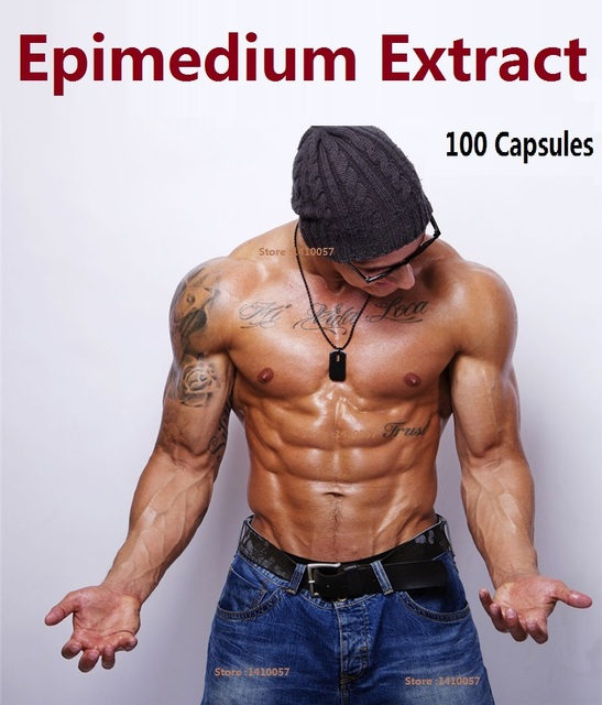 200 Capsules Epimedium Extract  Health Pruducts Herbal Yin Yang Huo & Horny Goat Weed & Epimedium Extract Caps SEx  For Men