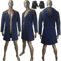 DMC 5 Nero jacket coat gauntlets cosplay Halloween carnival costume comic con video game outfit X'mas birthday gift