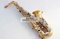 FREE SHIPPING Senior French brand Salma alto saxophone e musical instrument electrophoresis