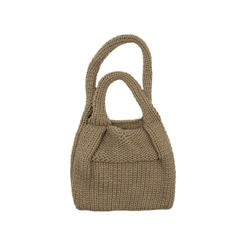 Small Mini Wool Knit Handbag Kids Winter Weave Tote Bag Cute School Handbag Girls High Quality Crossbody Bag Casual Coin Purses handbag