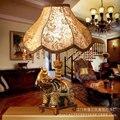 Бесплатная доставка  настольная лампа с изображением слона талисмана  домашнее украшение  KTV бар  настольные лампы  фонари  вилла  настольны...