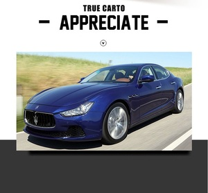 Image 4 - High Simulation Exquisite Diecasts & Toy Vehicles: Caipo Car Styling Maserati Ghibli 1:32 Alloy Car Model With Sounds and Light