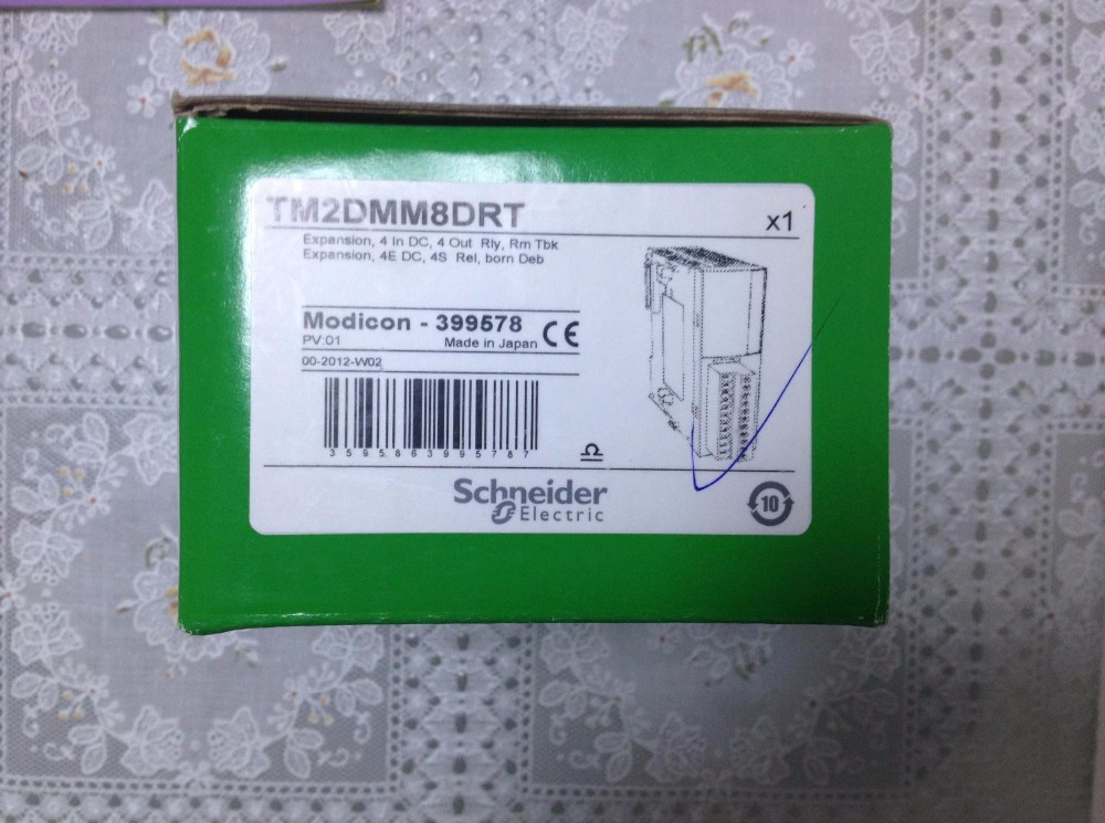 все цены на  Original TM2DMM8DRT Programmable Logic Controller PLC Expansion Module 4DI 4DO  онлайн