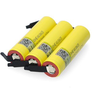 Image 2 - Liitokala Lii HE4 2500mAh Li lon Batterie 18650 3,7 V Power akkus Max 20A entladung + DIY Nickel blatt