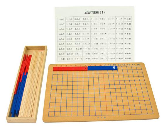 Addition Subtraction board Montessori mathematics teaching aids Montessori Early Learning Monte learning addition subtraction teaching elementary mathematics