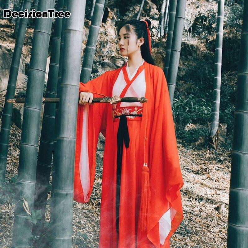 2019 été offre spéciale traditionnelle chinoise belle danse robe hanfu costume de la dynastie chinoise ancien costume chinois