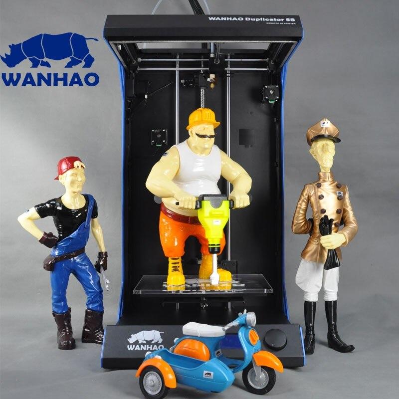 Offre spéciale WANHAO imprimante 3D imprimante numérique D5S, imprimante 3D kit cadre métallique avec prix de gros, filament gratuit comme cadeau