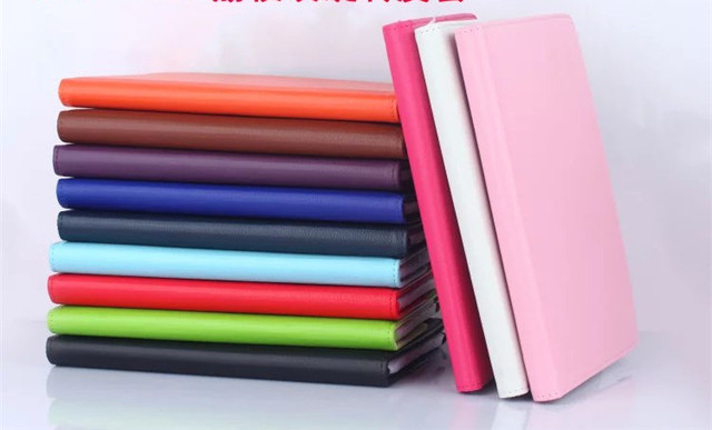 2016 For Apple iPad Pro 9.7 Case Leather Flip Luxury Tablet 360 Rotating Book Stand