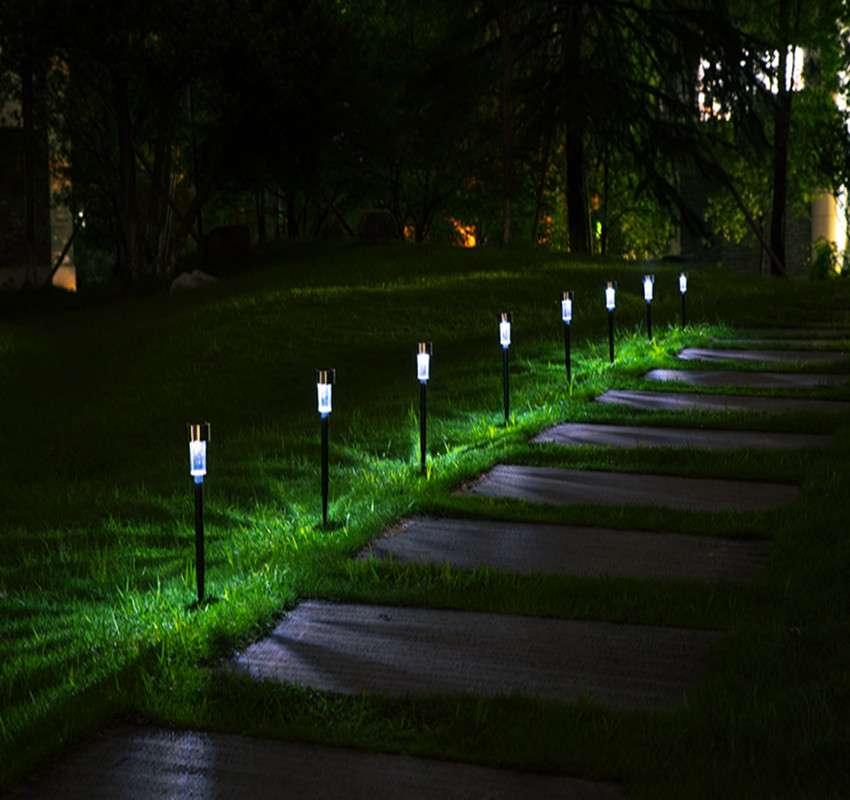 Led Lamps Lights & Lighting Efficient 2019 New Garden Mini Solar Led Lamp Outdoor Lawn Path Night Lighting Lamps Yard Landscape Spot Light