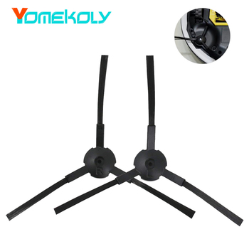 цена на Vacuum Cleaner Parts for ilife V7 V7S V7S PRO Vacuum Cleaner Accessories Replacement Spare Kits 1Pair Black Side Brushes