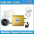 Ecrã LCD 2G 3G repetidor GSM 3G AMPLIFICADOR de Celular GSM HSDPA 3G Amplificador REPETIDOR do Sinal