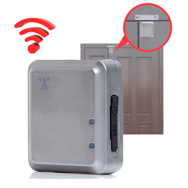 GSM Home Door Wireless Security Access Alarm Voice /Vibration/Magnetic Trigger Real Time Tracking Alarm System  Supports APP V13