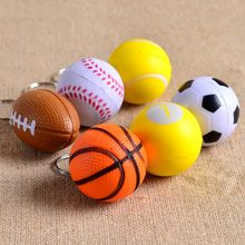 Cheap Football Basketball Baseball Table Tennis Keychain Toys, Fashion Sports Item Key Chains Jewelry Gift For Boys And Girls(China)