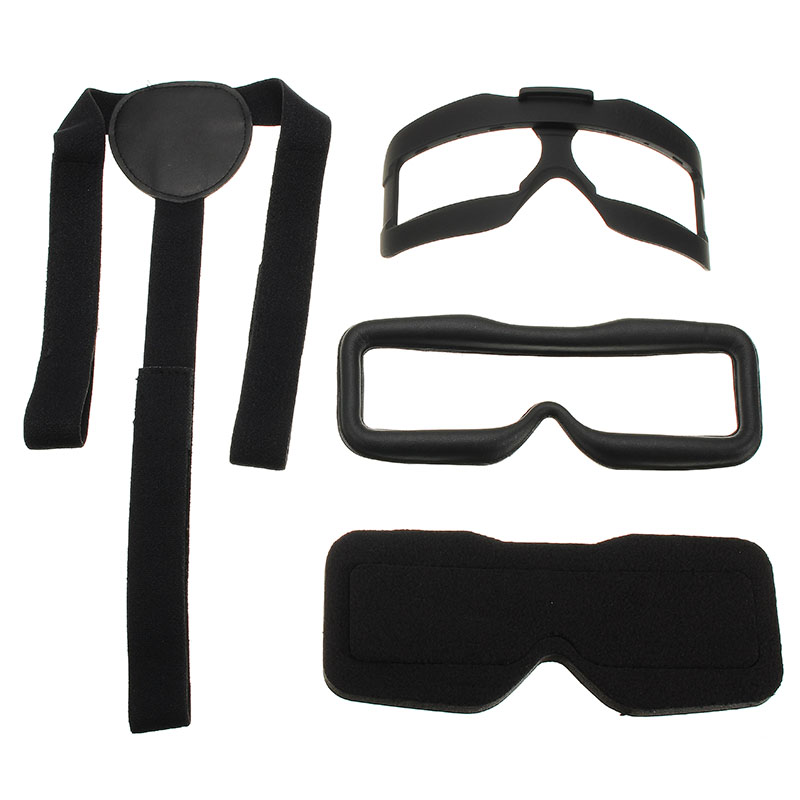 New Skyzone SKY02S V+ FPV Goggles Accessory Face Plate Sponge Pad Leather Pad Foam Head Spare Part For FPV System Accessories