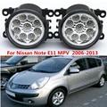 Для Nissan Note E11 MPV 2006-2013 стайлинга Автомобилей передний бампер СВЕТОДИОДНЫЕ противотуманные фары высокой яркости противотуманные фары 1 компл.