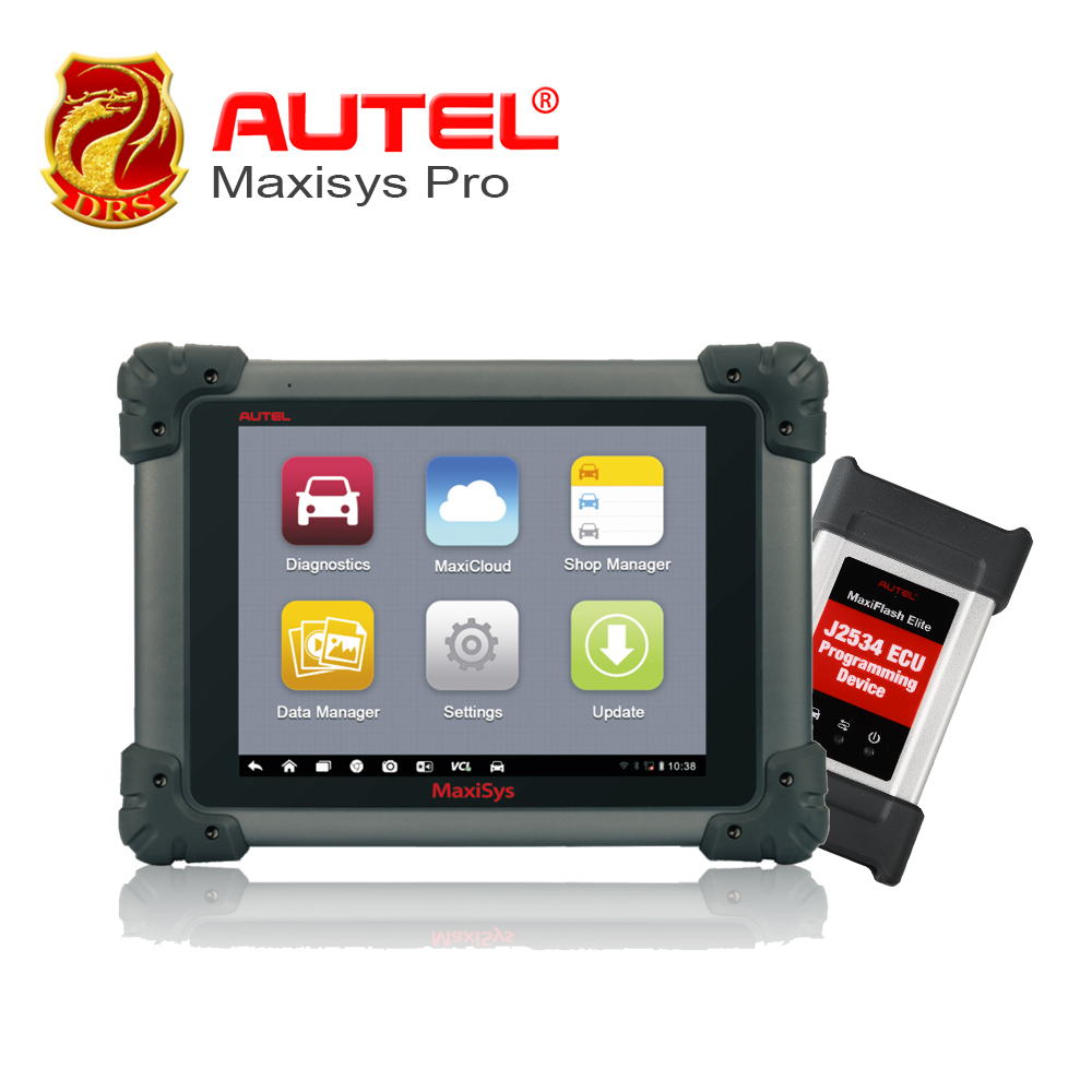 Autel MaxiSYS Pro MS908P Car Diagnostic ECU Codeing Programming System with WiFi / Bluetooth Support J-2534 Online Programming