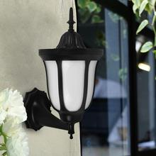 ФОТО Waterproof 96LED Solar Wall Light Solar Lamp Outdoor Garden Lighting Retro Flickering Flame Lantern for Holiday Outdoor Yard