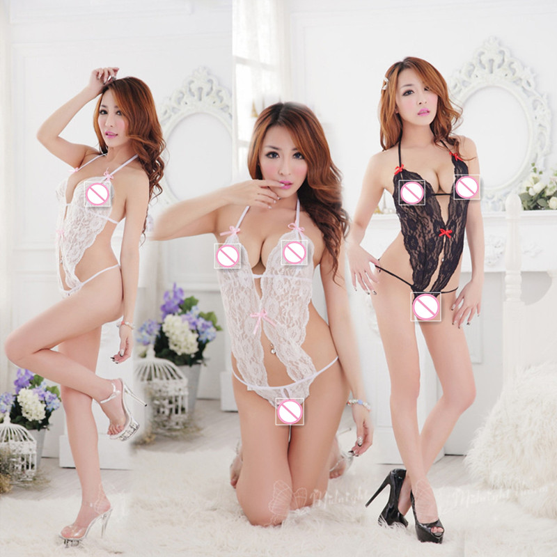 Hot Sale sexy Products Sexy Costumes Women Underwear Female Sexy Lingerie Transparent Conjoined Dress Suit