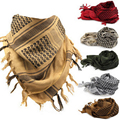 Arab Scarves Men Winter Military Windproof Scarf Cotton thin Muslim Hijab Shemagh Tactical Desert Arabic Scarf