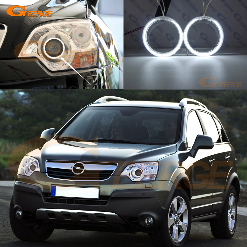 For Opel ANTARA 2011 2012 2013 2014 2015 xenon headlight Excellent Ultra bright illumination CCFL Angel Eyes kit Halo Ring bigbang 2012 bigbang live concert alive tour in seoul release date 2013 01 10 kpop