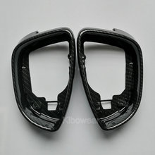 Side Wing Mirror Housing Frame Trim (carbon look) for Volkswagen Scirocco MK3 Passat B7 CC for Jetta MK6 6 EOS Beetle Replace