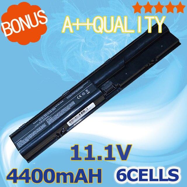 4400mAh battery For HP ProBook 4330s 4331s 4430s 4431s 4435s 4436s 4530s 4535s  633733-151 633733-1A1 633733-321 633805-001