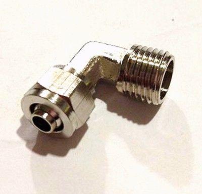 Rohre & Armaturen FleißIg 1/4 bsp Außengewinde Zu Qucik Fit Für 8x5mm O/dxi/d Schlauch Ellenbogen Messing Pneumatische Rohrschlauchkupplung Fitting Anschluss Adapter