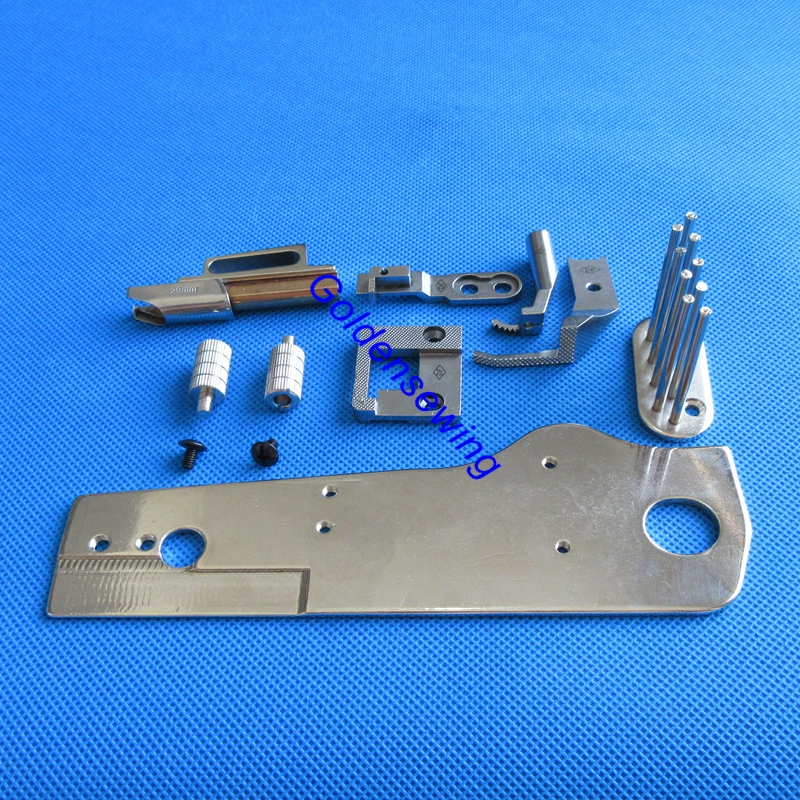 Binder Bracket Set With Tape Guide Foot Needle Plate Feeder Binder For PFAFF 335 Please Choose Your Wanted Size