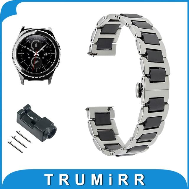 Bracelet ceramique gear s2