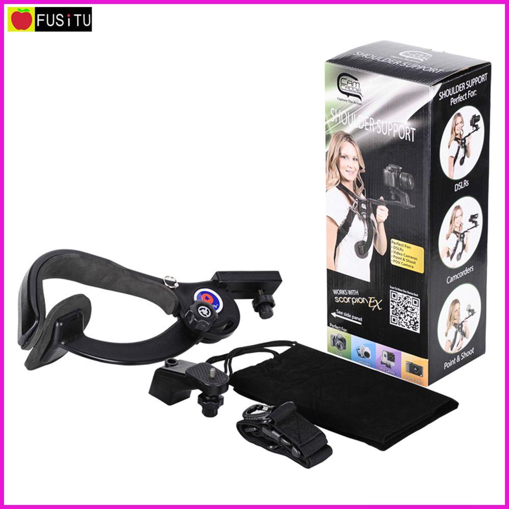 Manbily SR-400 Camera Tripod Hand Free Shoulder Support Pad Bracket Portable Travel Shoulder Pod