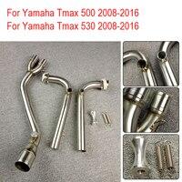TMAX 530 08 16 TMAX 500 Exhaust Muffler Full System FOR Yamaha T MAX Tmax 500