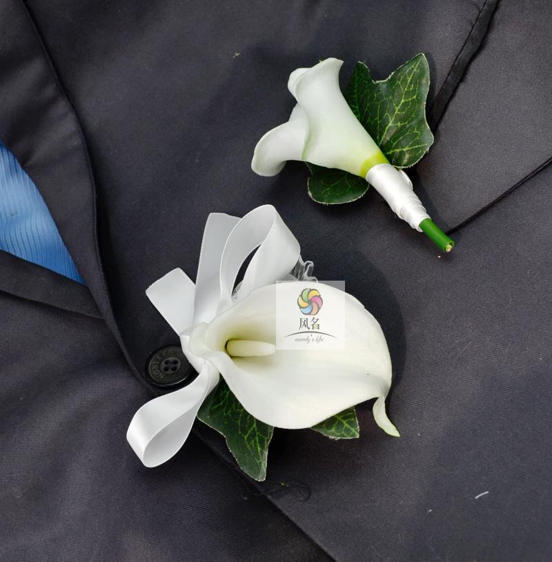 Handmade Corsages Blue Rose Bridal Wedding Supplies Groom Boutonniere Bride Bridesmaid Hand Wrist Flower Artificial Flower Fs101 Health & Beauty Medical & Mobility