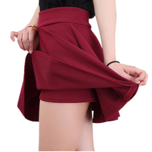 Spring and Summer skirt Style Korean version Skirts bust short Skirt womens high waist pleated