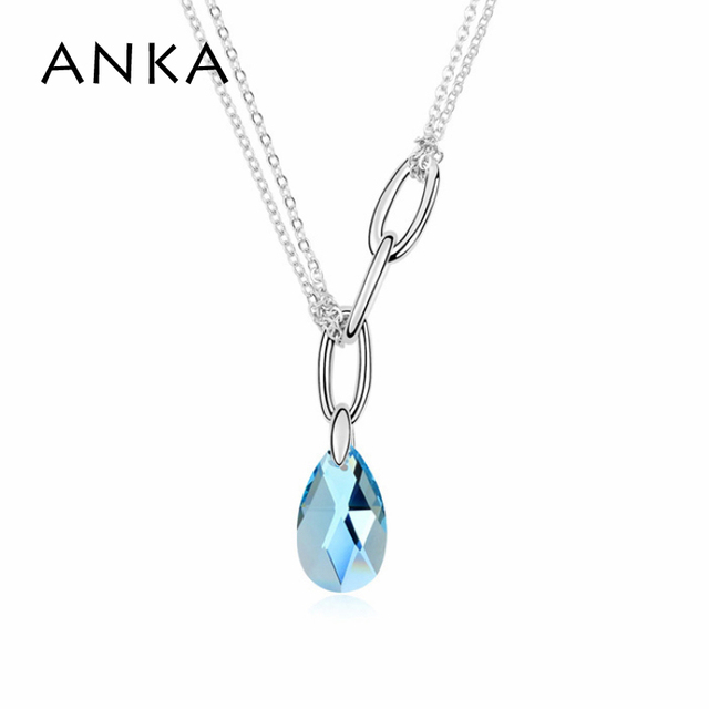 Anka 2017 water drop necklaces pendants fashion collier jewelry anka 2017 water drop necklaces pendants fashion collier jewelry boho mini parallele necklace crystals from aloadofball Choice Image