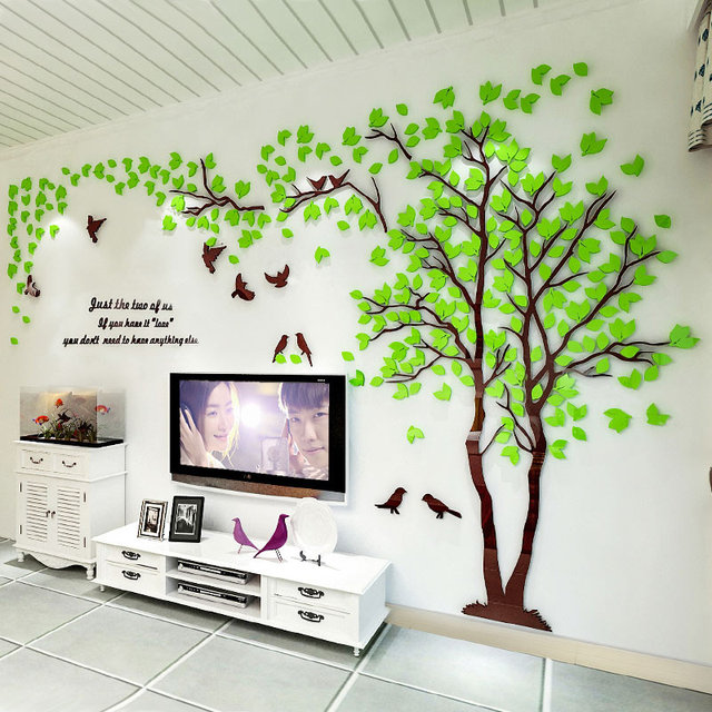 3d Creative Tree Wall Art Craft Wall Stickers Removable Vinyl Wall