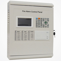 TC Addressable Fire Alarm Control Panel Intelligent FACP Only A Loop For 64 Addressable