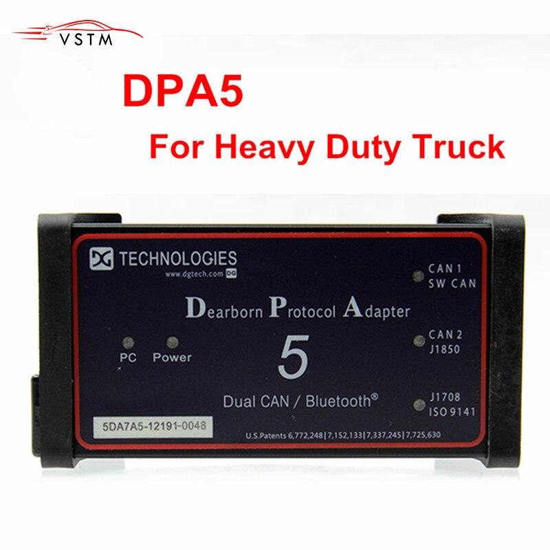 2019 Dearborn Protokoll Adapter5 Heavy Duty Truck Scanner DPA5 Ohne Bluetooth diagnose werkzeug DPA 5