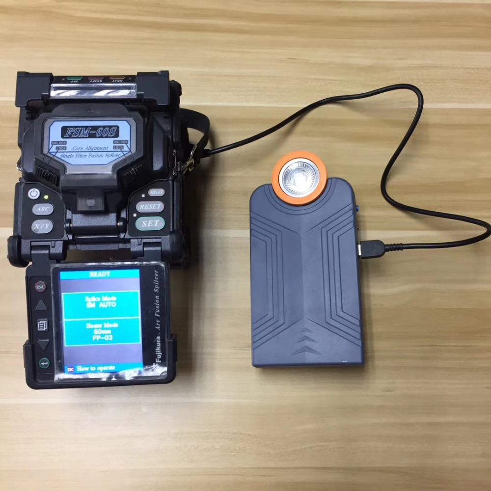 Free Shipping OTDR And Fusion Splicer Portable Battery Powerbank For Sumitomo 71C 81C Fujikura 70S 80S 60S Furukawa S178