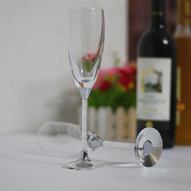 2019 noi moda pahare de cristal clar 170ml toasting flauturi - Bucătărie, sală de mese și bar