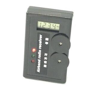 Image 1 - 110 140M Digital Display Air band radio receiver Airband Radio Receiver aviation band receiver for Airport Ground + headphone