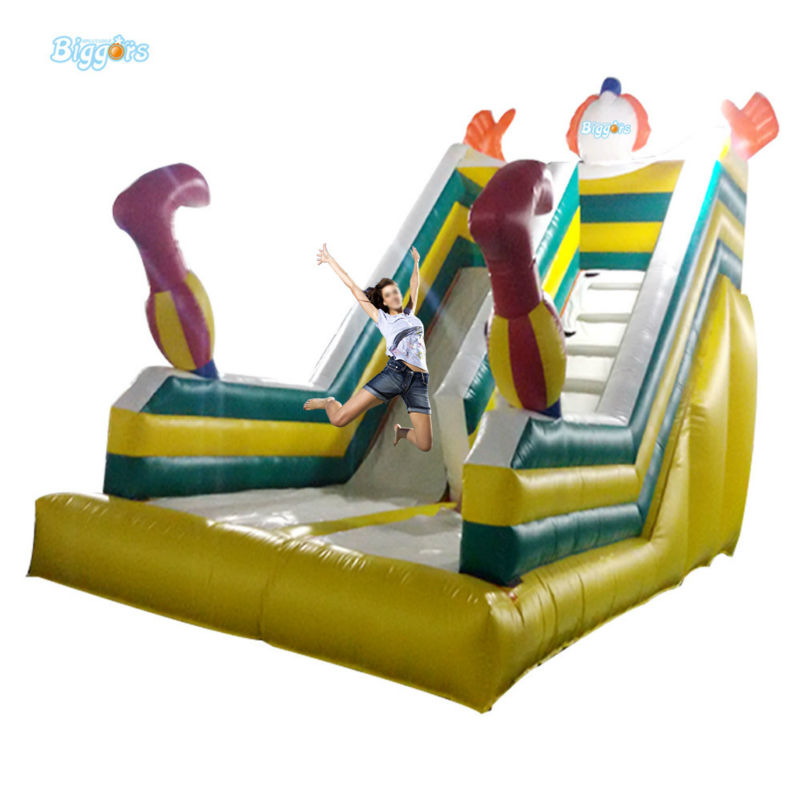 Inflatable Biggors Giant Inflatable Slide Fire-Resistance Slide For Outdoor Place